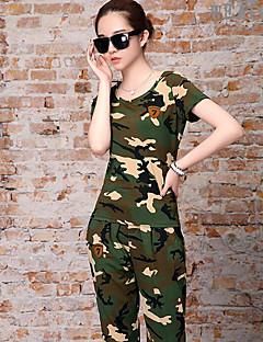 Damen T-Shirt für Wanderer Kleidungs-Sets für Sommer S M L XL XXL