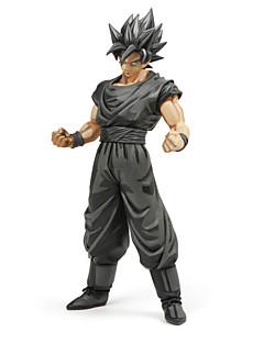 billige Anime cosplay-Anime Action Figurer Inspirert av Dragon Ball Goku PVC 29 CM Modell Leker Dukke