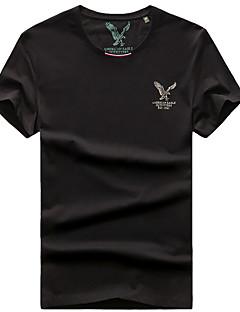 tanie Koszulki turystyczne-Męskie Tričko na turistiku Na wolnym powietrzu Quick Dry Oddychający T-shirt Topy Wędkarstwo