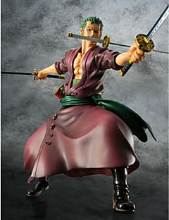 Anime Action Figurer Inspirert av One Piece Roronoa Zoro 23 CM Modell Leker Dukke
