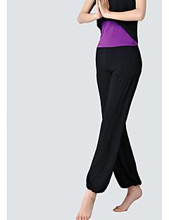 billige Løbetøj-Dame Løbebukser - Sort, Lys pink Sport Ensfarvet Modal Underdele Yoga, Træning & Fitness, Dans Sportstøj Åndbart, Fitness, Løb & Yoga