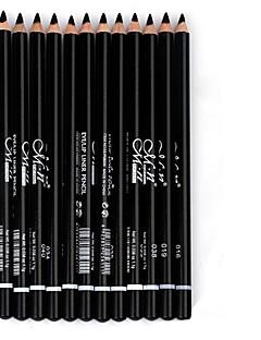 12 Colors Waterproof Liquid Eye Liner Black Eyeliner Pencil Makeup Pen
