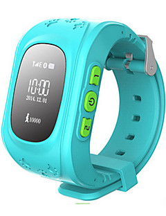 Kid's Fashion Watch Wrist watch Smart Watch Digital Rubber Band Blue Green Rose
