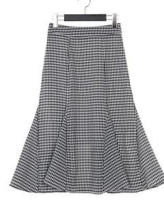 Ženske Sirena kroj Ležerno/za svaki dan Asimetričan Suknje Color block Ljeto