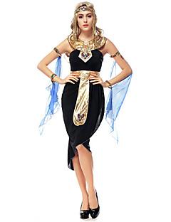 billige Voksenkostymer-Eventyr Egyptiske Kostymer Queen Gudinne Cleopatra Cosplay Kostumer Party-kostyme Dame Halloween Karneval Festival / høytid