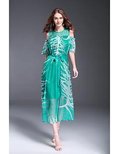 hesapli MMLJ-Kadın's sofistike Sokak Şıklığı Kılıf Elbise Resim Midi