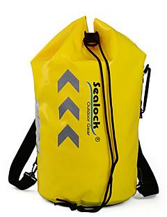 billige Tørposer & Tørbokse-Sealock 25 L Vandtæt tørtaske / Vandtæt rygsæk for Dykning / Lystsejlads / Udendørs