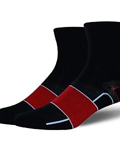 billige Sykkelklær-Sport Sokker / Athletic Socks Sykkel / Sykling Sokker Herre Yoga & Danse Sko / Vandring / Klatring Anatomisk design / Beskyttende 1 par