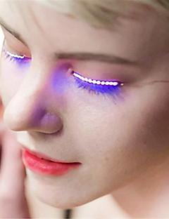 tanie Światła prezentów-YWXLIGHT® Jedna para × 2 Inne Noc LED Light Cold White Pink Blue White Bateria Smart Przysłonięcia Wodoodporne