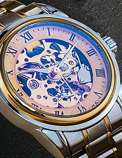 Herrn Kleideruhr Modeuhr Armbanduhr Einzigartige kreative Uhr Armbanduhren für den Alltag Japanisch Kalender Wasserdicht Transparentes