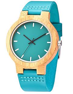 Pánské Náramkové hodinky Unikátní Creative hodinky Hodinky na běžné nošení Hodiny Dřevo Sportovní hodinky Módní hodinky Křemenný dřevěný