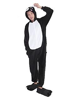 Kigurumi Pyjamas Grisunge/gris Kostume Rosa Svart hvit Flannelstoff Sko Hansker Kigurumi Trikot / Heldraktskostymer Cosplay Festival /