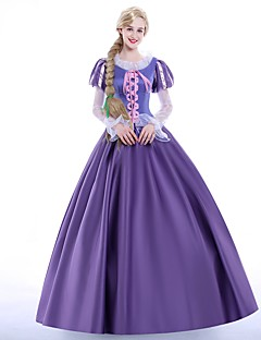 cheap Men's & Women's Halloween Costumes-Princess Fairytale Queen Sofia Cosplay Costume Party Costume Masquerade Movie Cosplay Dress Petticoat Wig Christmas Halloween Carnival