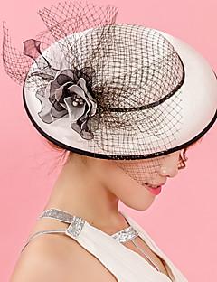 お買い得  ファッション帽子-女性用 ハット ソリッド バケットハット