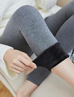 billige Sokker og strømper til damer-Dame Strømpebukse Normal Ensfarget Bomull Nylon, 1pc Svart Mørkegrå Grå Lyseblå