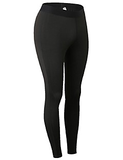 Dame Tights til jogging Treningstights Fitness, Løping & Yoga Fort Tørring Anatomisk design Pustende Lettvekt Sport Tights Bunner Løper