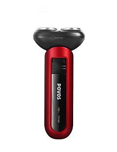 Elektriske barbermaskiner Damer og Herrer Ansikt 220V-240V Vannavvisende Slim design Håndholdt design Lett og praktisk Stille og dempe