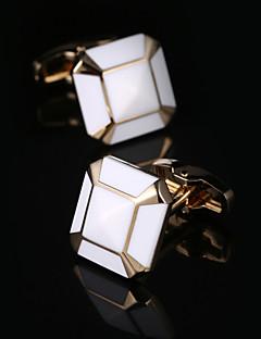 Χαμηλού Κόστους Σμόκιν και κοστούμια-Geometric Shape / Πλατεία κοπής Χρυσαφί Butoni Δώρο Κουτιά & Τσάντες / Μοντέρνα Ανδρικά Κοστούμια Κοσμήματα Για