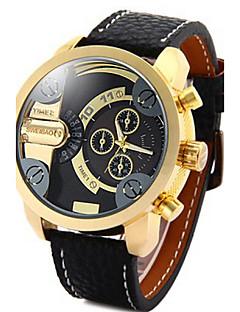 Herrn Sportuhr Militäruhr Kleideruhr Modeuhr Armbanduhr Armband-Uhr Armbanduhren für den Alltag Japanisch Quartz Kalender Wasserdicht