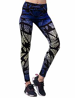 Yogabroek Fietsen Tights/Lange Broek Kleding Onderlichaam Rekbaar Natuurlijk Rekbaar Sportkleding Dames BARBOK Yoga Hardlopen Pilates