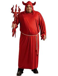 Skjelett / Kranium Zombie Cosplay Cosplay Kostumer Mann Unisex Halloween Karneval De dødes dag Festival / høytid Halloween-kostymer Rød