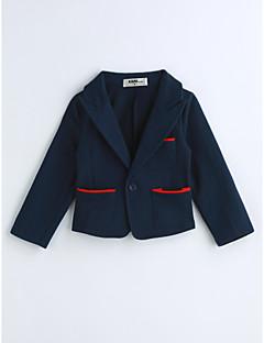 Jungen Anzug & Blazer einfarbig Baumwolle Frühling Herbst Lange Ärmel