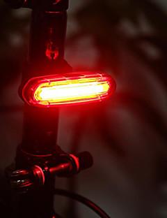 billiga Cykling-Cykellyktor / Vattentät / bar end ljus LED - Cykelsport Uppladdningsbar / Vattentät / Liten storlek Litium Batteri 50lm Lumen Batteri