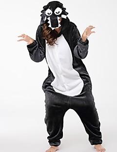 着ぐるみ パジャマ オオカミ イベント/ホリデー 動物パジャマ ハロウィーン ファッション 刺繍 フランネル コスプレ衣装 きぐるみ ために 夫婦 男女兼用 ハロウィーン クリスマス カーニバル こどもの日 新年