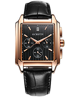 Herrn Armbanduhr Einzigartige kreative Uhr Armbanduhren für den Alltag Uhr Holz Sportuhr Modeuhr Quartz Kalender Echtes Leder Band Luxus
