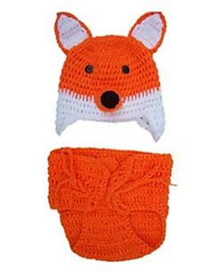 Eläin Hatut Lapset Halloween Lasten päivä Festivaali / loma Halloween-asut Oranssi Muoti