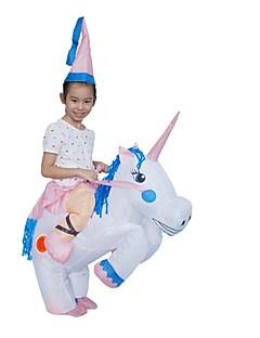 billige Halloweenkostymer-Riding A Unicorn Barne Halloween Karneval Festival / høytid Halloween-kostymer Dyremønster