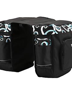billiga Cykling-ROSWHEEL 30 L Väska till pakethållaren / Cykelväska Vattentät, Justerbara Cykelväska Nät / 600D Polyester Cykelväska Pyöräilylaukku