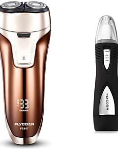flyco fs867 elektrisk barbermaskin razor nese enhet 100240v vaskbar
