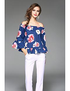 tanie SS 18 Trends-T-shirt Damskie W serek Jendolity kolor Jedwab
