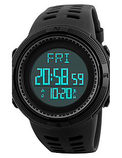 billige Luksus Ure-SKMEI Herre Digital Digital Watch / Armbåndsur / Sportsur Japansk Alarm / Kalender / Kronograf / Vandafvisende / Kreativ / Sej /