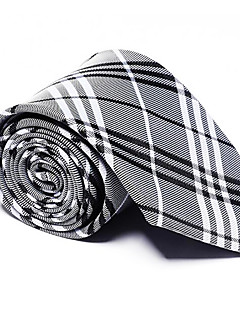 olcso -Férfi Csíkos Minden évszak Poliészter Vintage Party Munkahelyi Alkalmi Nyakkendő