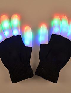 tanie Światła prezentów-1 para Lampki na palce LED Bateria Dekoracyjna Artystyczny / DOPROWADZIŁO