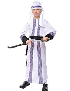 Prins Etnisk/Spirituell Drakter Barn Halloween Jul Festival/høytid Halloween-kostymer Lapper