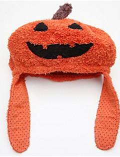 Gresskar Hatter Barn Halloween Barnas Dag Festival/høytid Halloween-kostymer Oransje Mote