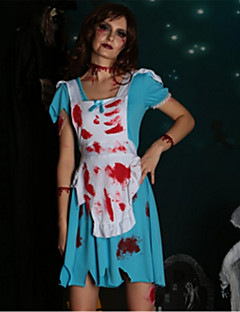 billige Halloweenkostymer-Bloody Mary Cosplay Kostumer Halloween De dødes dag Festival / høytid Halloween-kostymer Mote
