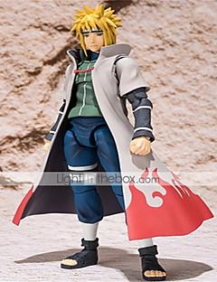 billige Anime cosplay-Anime Action Figurer Inspirert av Naruto Minato Namikaze CM Modell Leker Dukke Unisex