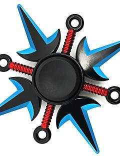 billige Anime cosplay-Fidget Spinner Inspirert av Naruto Naruto Uzumaki Anime Cosplay-tilbehør Sink Legering