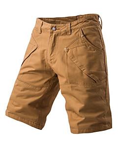 お買い得  メンズパンツ&ショーツ-男性用 小柄 カジュアル ストリートファッション ミッドライズ マイクロエラスティック ルーズ チノパン パンツ, コットン ソリッド 夏