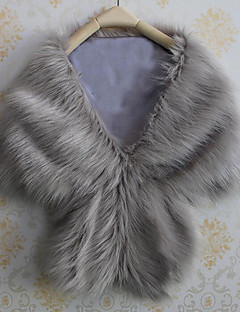 cheap -Faux Fur Wedding Party/ Evening Women's Wrap Capelets Elegant Style