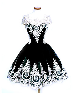 Party Costume Masquerade Gothic Lolita Sweet Lolita Punk Lolita Steampunk® Lace-up Victorian Rococo Princess Celebrity Style Medieval
