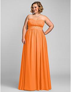 136823221449 Γραμμή Α Καρδιά Μακρύ Σιφόν Χοροεσπερίδα   Επίσημο Βραδινό Φόρεμα με  Χάντρες   Πλισέ με TS Couture®