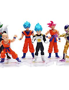 billige Anime cosplay-Sun WuKong Originale Son Goku Action- og lekefigurer Anime og manga Plast Herre Jente Gutt Gave