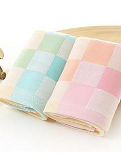 フレッシュスタイル ハンドタオル,チェック 優れた品質 コットン100% タオル