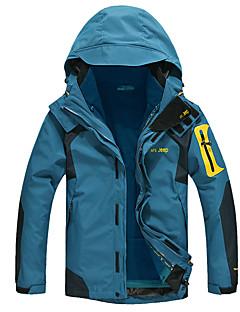 AFSJeep Pánské Bundy 3 v 1 Outdoor Zima Zahřívací Nositelný Prodyšné odolný proti vodě Ter Emen Odolné vůči větru sako Vrchní část oděvu