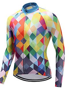 FUALRNY® Biciklistička majica Muškarci Dugih rukava Bicikl Biciklistička majica Quick dry LYCRA® Coolmax Pasti Proljeće Brdski biciklizam